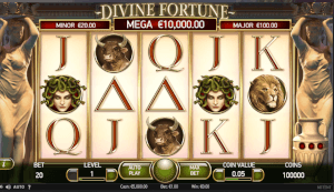 Divine Fortune Slot Reel