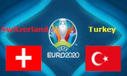 สวิตเซอร์แลนด์ VS ตุรกี เวลา 23.00 น. วันที่ 20 มิ.ย.